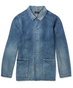 CHIMALA | Washed Selvedge Denim Jacket