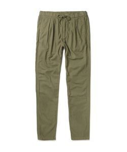 NONNATIVE | Farmer Slim-Fit Tapered Brushed Cotton And Wool-Blend Trousers