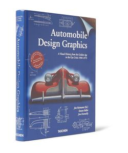 Taschen | Automobile Design Graphics Hardcover Book