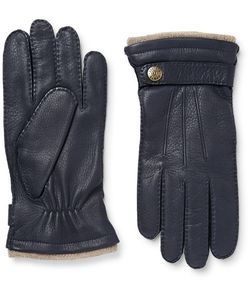 DENTS | Gloucester Cashmere-Lined Full-Grain Leather Gloves