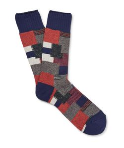 Anonymous Ism | Patchwork Knitted Socks