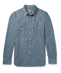 CHIMALA   Chiala Washed-Cotton Chabray Shirt