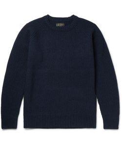 Beams Plus | Beam Plu Ribbed Wool-Blend Weater