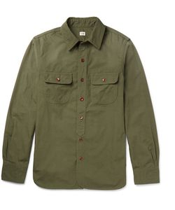 CHIMALA   Slim-Fit Cotton Shirt
