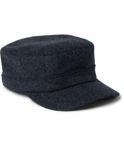 Lock & Co Hatters | Herringbone Wool Cap