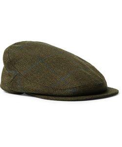 Musto Shooting | Checked Wool-Blend Tweed Flat Cap