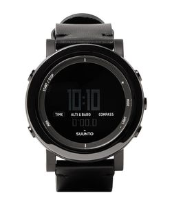 SUUNTO | Essential Ceramic Stainless Steel And Leather Digital Watch