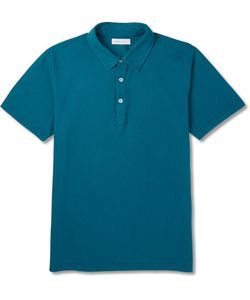 Several | Rosko Slim-Fit Cotton-Piqué Polo Shirt