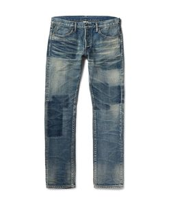Fabric-Brand & Co | Bowie Slim-Fit Washed-Denim Jeans