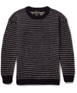 Nigel Cabourn | Two-Tone Wool Sweater