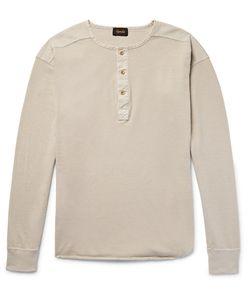 CHIMALA   Rensil Cotton-Piqué Henley T-Shirt