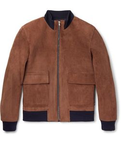 Solid Homme | Suede Bomber Jacket