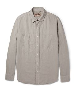 Nigel Cabourn | Slim-Fit Cotton And Linen-Blend Shirt