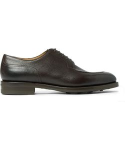 EDWARD GREEN | Dover Cross-Grain Leather Derby Shoes