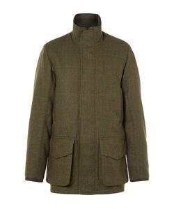Musto Shooting | Checked Gore-Texreg Wool-Blend Tweed Field Jacket Dark