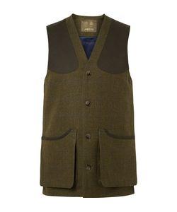 Musto Shooting | Muto Hooting Checked Wool-Blend Tweed Gilet