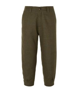 Musto Shooting | Tapered Cropped Checked Wool-Blend Tweed Breeks Trousers