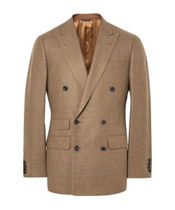 Thom Sweeney | Slim-Fit Double-Breasted Wool Blazer
