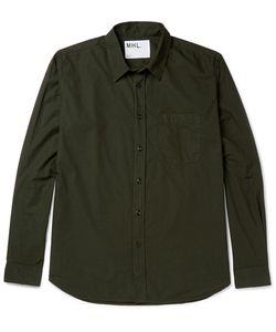 MARGARET HOWELL | Cotton-Poplin Shirt