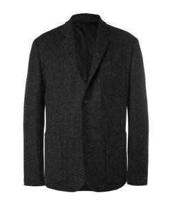 MARGARET HOWELL | Grey Harri Wool-Tweed Blazer