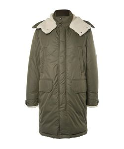 Moncler | Grafton Shearling-Trimmed Shell Down Parka
