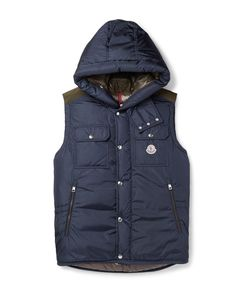 Moncler | Anis Quilted Shell Hooded Down Gilet
