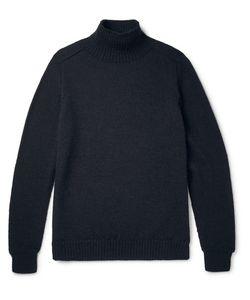 MARGARET HOWELL | Wool Mock Neck Weater