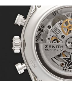Zenith | El Primero 36000 Vph Stainless Steel And Alligator Watch