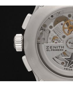 Zenith | Pilot Stainless Steel And Leather Watch