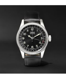 Oris | Big Crown Original Pointer Date Stainless Steel And Leather