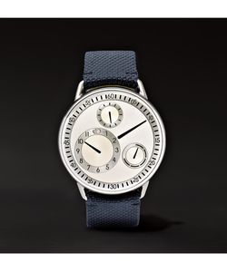 Ressence | Type 1 G Titanium And Leather Watch