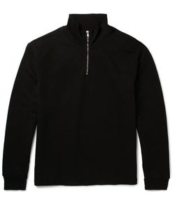 Several | Coet Sli-Fit Loopback Cotton-Jersey Half-Zip Sweatshirt