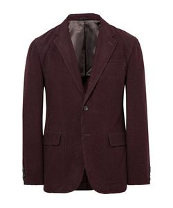 Camoshita | Slim-Fit Wool-Corduroy Blazer