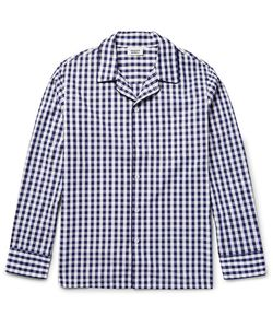 Sleepy Jones | Leepy Jone Henry Gingham Cotton Pyjama Hirt