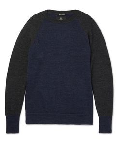 Nigel Cabourn | Two-Tone Boiled Wool Sweater