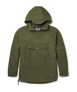 Battenwear | Cout Water-Reitant Cotton-Blend Hooded Jacket