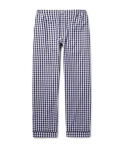 Sleepy Jones | Leepy Jone Marcel Gingham Cotton Pyjama Trouer