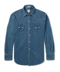 Orslow | Denim Western Shirt