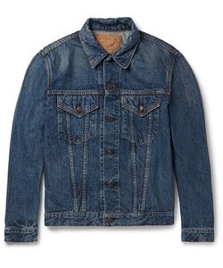 Orslow | Washed-Denim Jacket