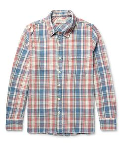Remi Relief | Checked Cotton-Twill Hirt