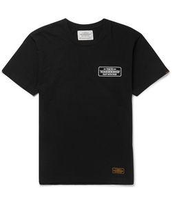 Neighborhood | Slim-Fit Printed Cotton-Jersey T-Shirt