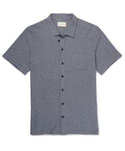 Oliver Spencer | Slim-Fit Jacquard-Knit Cotton Shirt