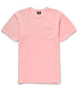 Stüssy | Embroidered Cotton-Jersey T-Shirt