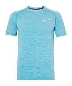 Nike Running | Mélange Knitted Dri-Fit T-Shirt
