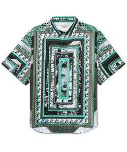 CAV EMPT | Oversized Printed Cotton-Voile Shirt