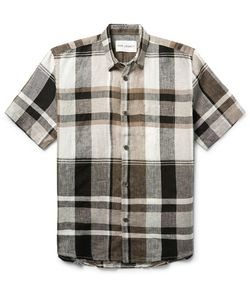 Our Legacy | Checked Linen Shirt