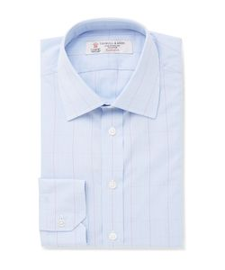 Turnbull & Asser | Slim-Fit Prince Of Wales Checked Cotton