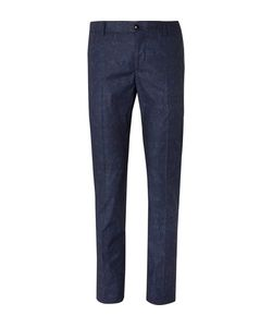 Etro | Slim-Fit Damask-Printed Stretch-Cotton Suit Trousers