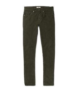 Incotex | Slim-Fit Stretch-Cotton Corduroy Trousers