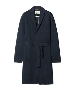 Oliver Spencer Loungewear | Quilted Cotton-Blend Jersey Robe